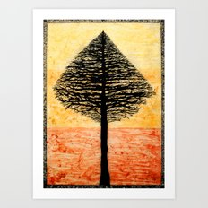 Tree Top. Art Print