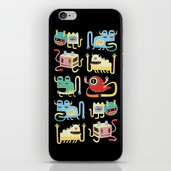 Petits monstres  iPhone & iPod Skin