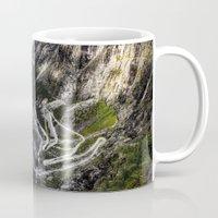 norway Mugs featuring Trollstigen, Norway. by Ar Ling Landscape photography