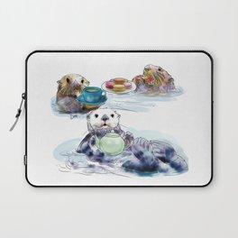 The Otter's Tea Laptop Sleeve