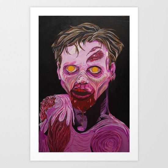 Walker  Art Print
