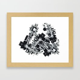 Machineatronic Framed Art Print