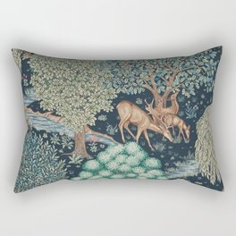 William Morris The Brook Rectangular Pillow