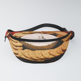 Cheese and Crackers Fanny Pack