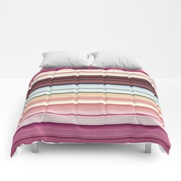 Sandwich cookie stripes Comforters