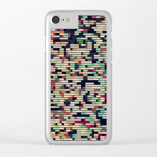 Pixelmania VIII Clear iPhone Case