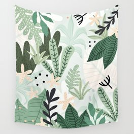 Into the jungle II Wall Tapestry