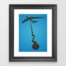 Chocolate Bombs Framed Art Print
