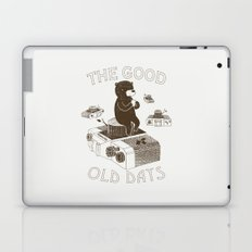 The Good Old Days Laptop & iPad Skin