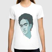 frida kahlo T-shirts featuring Frida Kahlo by Liam Hopkins