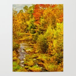 Autumn On The Ammonoosuc Poster