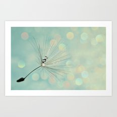 gliter Art Print