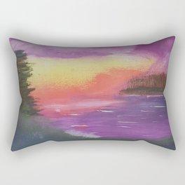 Dramatic Twilight Rectangular Pillow
