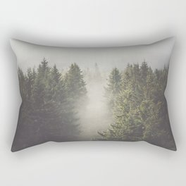 My misty way - Landscape and Nature Photography Rectangular Pillow