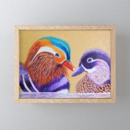 Lovers   Amants Framed Mini Art Print