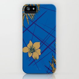 Fern with flowers iPhone Case