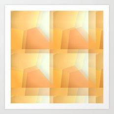 Sunshine Ripples Art Print