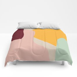 Ziz Abstract Painting Comforters