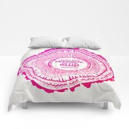 My List – Pink Ombré Ink Comforters