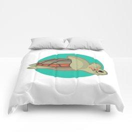 Loggerhead sea turtle Comforters