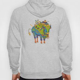 Bison, cool wall art for kids and adults alike Hoody