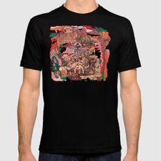 Village of Forest Black MEDIUM Mens Fitted Tee