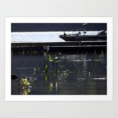 lakesprouts Art Print
