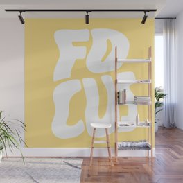 Focus Wave Wall Mural