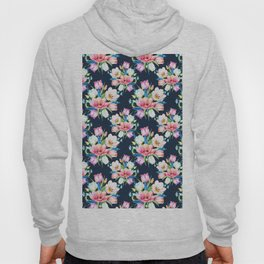 tulips on dark background Hoody