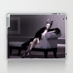 Beautiful courtesan in her lavender salon Laptop & iPad Skin