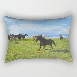 The Round Up Rectangular Pillow