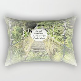Psalm 46:10 Rectangular Pillow