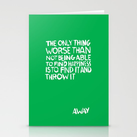 ...Away (Vers. 2) Stationery Cards