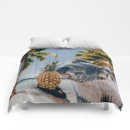 Koala in the beach Comforters