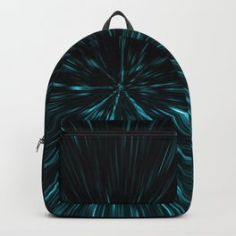 Blue and black Hypergalaxy Backpack