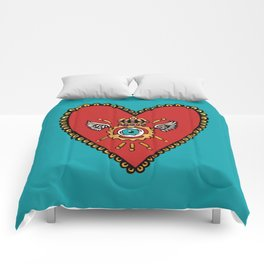 Sacred SteamHeart Comforters