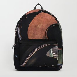Spiral glass staircase Backpack