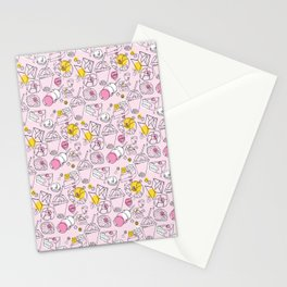 Japanese treats pattern Stationery Cards