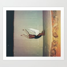 sometimes you hit a wall... get out a sledgehammer  Art Print