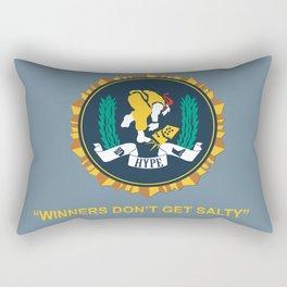 Winners Don't Get Salty Rectangular Pillow