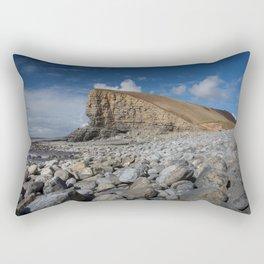 Nash Point Welsh Heritage Coast Rectangular Pillow