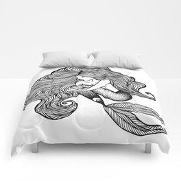 Sweet Shauna Mermaid Drawing  Comforters