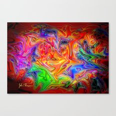 Psychosis Canvas Print