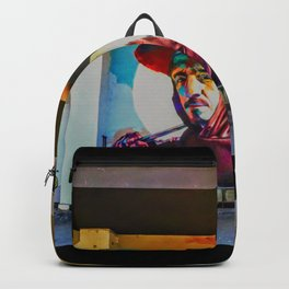 Old man waiting Photographic Backpack