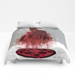 Red Guard Comforters