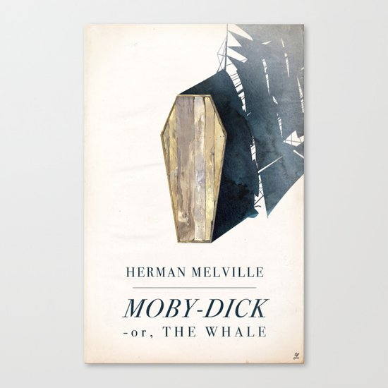 Moby-Dick Canvas Print