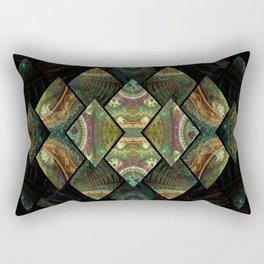 Dicephalous Dragon Rectangular Pillow