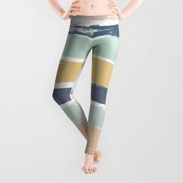 Pastel Stripes Leggings