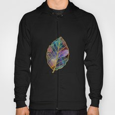 Colored Leaf Pattern 2 Hoody