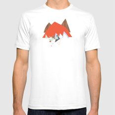 Party In The Mountains//Seven White Mens Fitted Tee MEDIUM